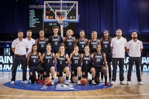 equipe de france basket femme