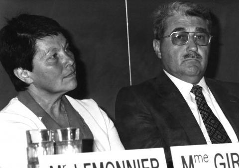 Georgette Girardot et René David