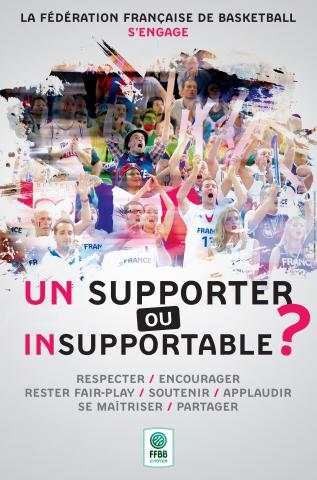 Affiche un supporter ou insupportable
