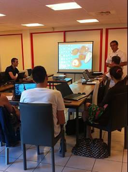 2015-06-06 – Châlons sur Saône - Formation au logiciel France Basket Information – Module Répartition
