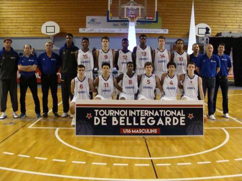 Equipe de France U16 au Tournoi de Bellegarde