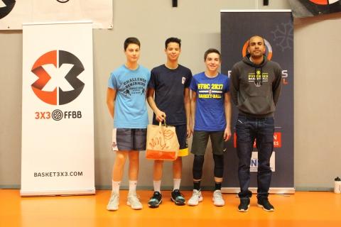 Les Koalas Bleus, vainqueurs des U15 masculins