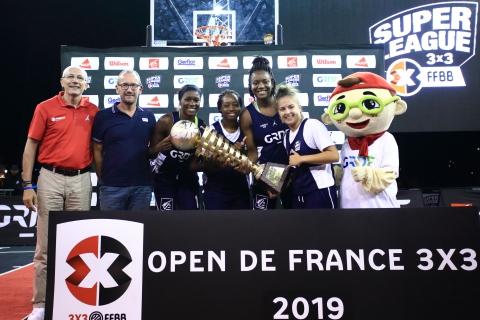 Vainqueures Open de France 2019