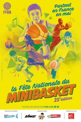 affiche fete du basket