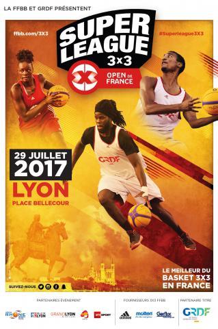 Affiche Open de France 3X3 2017