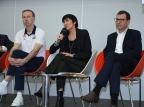 Valérie Garnier et Vincent Collet aux côtés de Jacques Commères, seront de nouveau réunis la dernière semaine d'août à l'INSEP