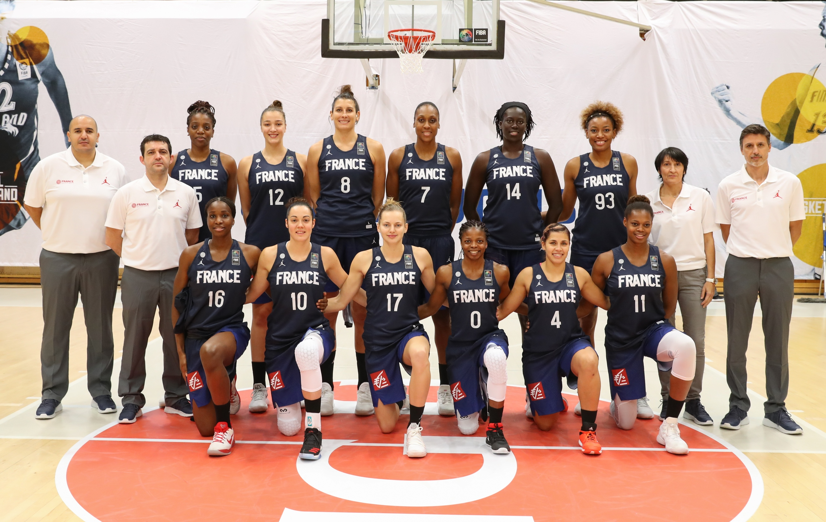 Quipe de France f minine de basket-ball en 2019